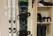 ski snowboard Bike storage