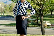 Ann Taylor / Wearing some polka dots/Spring 2015