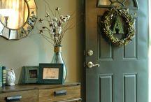 entryway ideas / by Dawn Hilton
