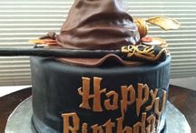 Harry Potter birthday cakes