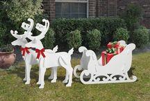 Reindeer cutouts