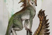 Mythical creatures and creatures design
