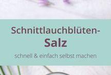 Schnittlauchblütensalz