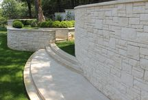 Miral Limestone / Similar to the grain found in wood, stone can also have a well-defined vein direction when quarried. The appearance of these types of stones will vary depending on whether cut with or against this vein. Miral is suitable for all climates and applications ranging from interior and exterior paving, pool copings, vertical wall veneer and caps, and custom carved applications.