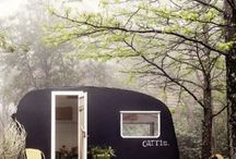 Travelling/Portable Studios / Travelling art studios, and also little trailers I love
