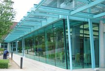 Peel Centre - Case Study / Aluminum Framed Roof Glazing & Vertical Frameless Structural Glazing have been used in this case study.