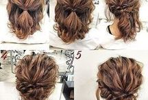 Updo hairstyles .