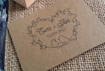 Stemple ślubne ♡ Wedding stamps