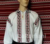 Romanian folk costume for man, handmade 100%