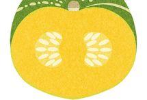 fruit & veg illustration