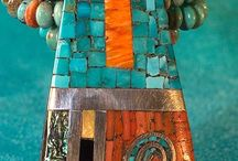 Turquoise, jewelry, native american style