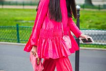 pink to make the boys wink / pink street style