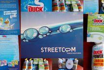 Streetcom - kampania Duck Fresh / #streetcom