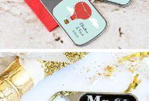 Wedding - bridesmaid/groomsman gifts
