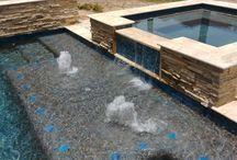 $85k - $100k Swimming Pool Designs / Custom swimming pool designs, luxury pool features, the full package backyard price range $85,000 to $100,000