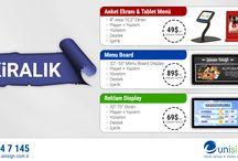 Unisign Hizmetler / Unisign olarak bütün sektörlere özel hizmetler sunmaktayız.