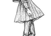 Rysunki- moda