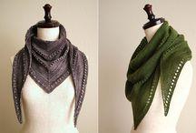 Scarfs, shawls and wraps.