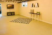Rec Room / This space can range anywhere from elegant and upscale where you entertain guests to an indestructible area where you send the kids to burn some energy. Whatever your plan, here are ideas for your rec room.