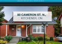 80 Cameron St., N. Kitchener, ON N2H3A4 / Amazing 2 bedroom 2 bath home in Downtown Kitchener. Home features, hardwood floors on main, large kitchen, separate dining room with walkout to back deck and a huge backyard. From your front door you are walking distance to schools, bus route, restaurants and the downtown core which has all amenities, and a short drive to everything from your central location. This home will not last long. Book a showing today!!!