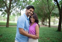 Indian Engagement / Tampa Indian Wedding Photographer, Engagement Shoot, Cute couple poses