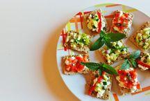 Antipasti / Tutti gli apetizer utilizzati come apertura di un pasto