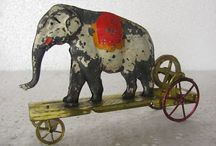 Tin Toys Rare Early Antique + Wind-up & Fly-wheel