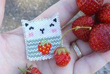 Beads - Flat (brick stitches)