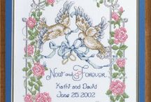 Cross-stitch---Wedding
