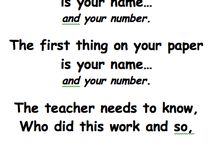 Teaching procedures / by Mikala Salmeron
