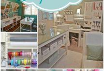 Craftroom / Idee per stanze creative, soluzioni pratiche ed economiche