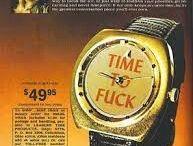 Vintage watch ads