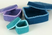 CROCHETED GIFT BOXES