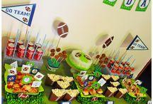 Football party! / Baby party per il nostro piccolo campione.