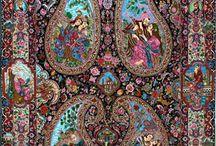 Tapetes, telas, armonía, color / Belleza en telas