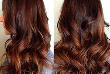 hair colour ideas / how i'd like to colour my hair