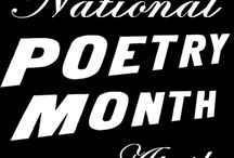 "Poetry Month / ""April is the cruelest month...""