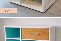 Mobiliario y ambientes / Muebles - Hecho a mano - Restauración - Reciclaje