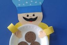 Chef craft idea for kids / This page has a lot of free Chef craft idea for kids,parents and preschool teachers.