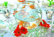 centerpieces / by Joy VanHoven