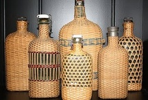 Botellas tejidas