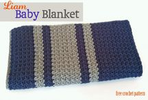 crochet: baby blankets & afghans/ free #2 / by Amy Woods