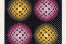 Victor Vasarely - Vega period / Op Art