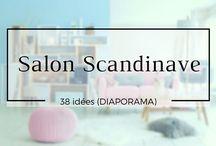 Salon scandinave