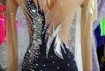 vestido patin artitico