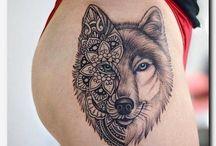 Tatuagem descoladas