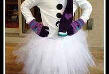 Snowman costume / by Bonnie Sharp