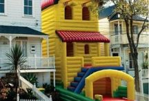 Bounce House Fun / Funny pictures, creative ideas, and more for all things bounce house.