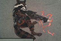 Shin'en Art - tricouri pictate