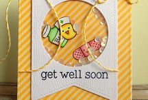 My Papercraft Inspiration - Get Well / Ideas for Get Well cards